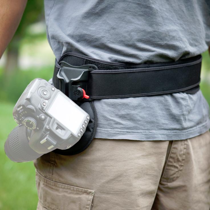Spider Holster Black Widow Kit - Kamera-Tragesystem für leichte DSLR oder Systemkameras
