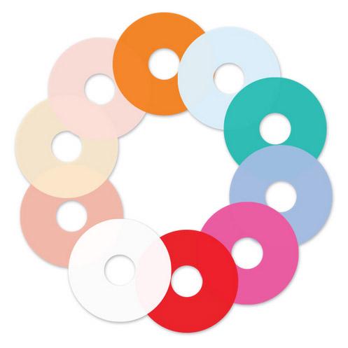 Rotolight FX Farbfilterset für NEO, 10 Filter