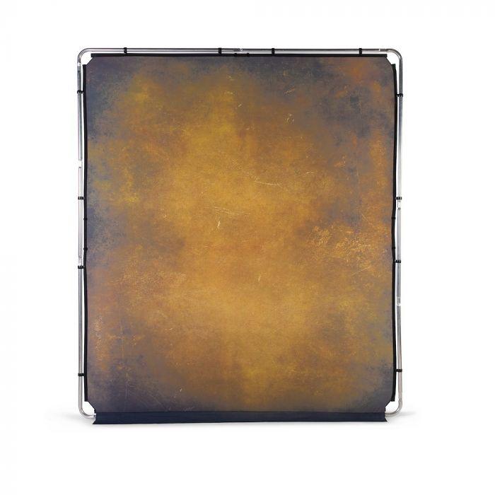 Lastolite EzyFrame Vintage Background 2 x 2,3m, Tobacco