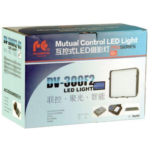 Falcon Eyes LED Leuchten-Set, 300 LEDs, 2200 Lux, dimmbar