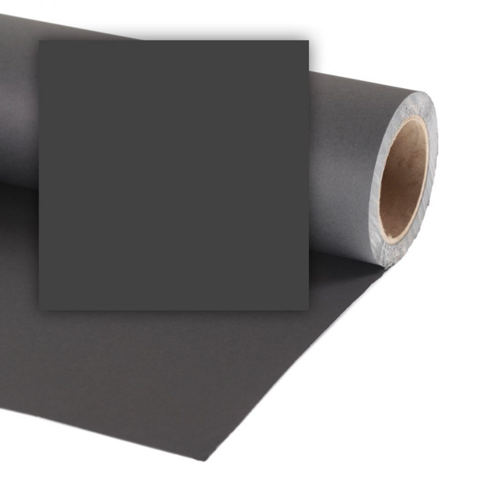 Colorama Hintergrundkarton - Black / schwarz