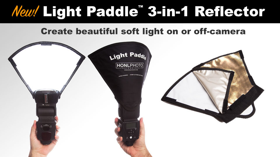 HONL Light Paddle 3 in 1 Reflektor