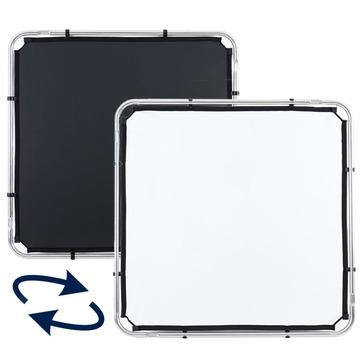 Lastolite Skylite Rapid Bespannung small 1,1 x 1,1m schwarz/weiß