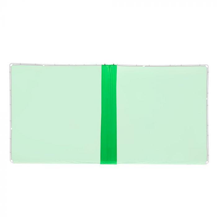 Lastolite Verbindungskit für 2 StudioLink Chroma Key Kits, Greenbox grün, 3m