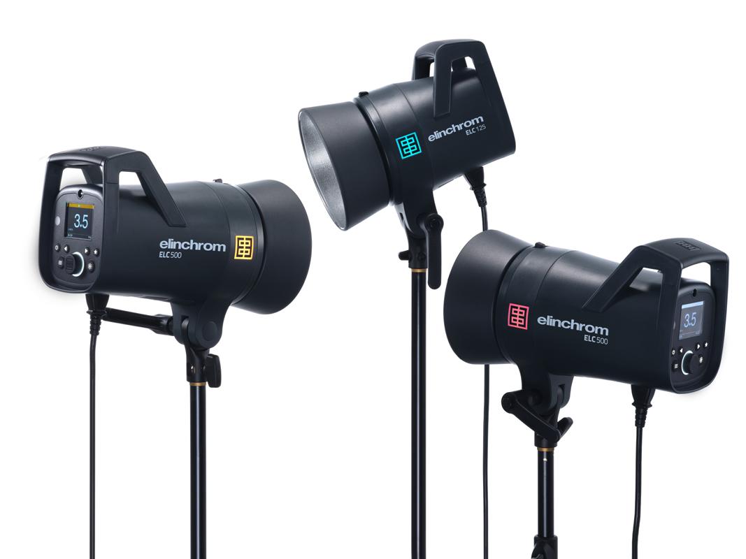 Elinchrom ELC 500/500/500 TTL Master Studio Kit